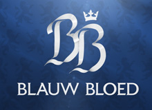 Blauw Bloed leader en logo-ontwerp