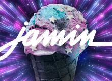 Jamin – Galaxy IJs instore animatie